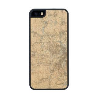 Boston, Massachusetts Wood Phone Case For iPhone SE/5/5s