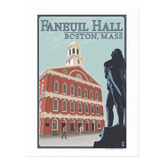 Boston, MassachusettsFaneuil Hall View Postcards