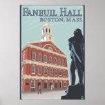 Boston, MassachusettsFaneuil Hall View Poster