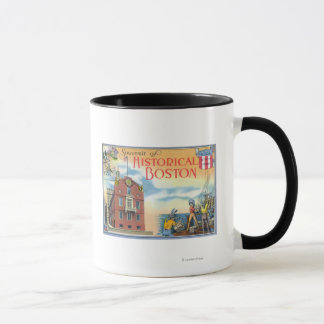 Boston, MassachusettsHistorical Boston Scenes Mug