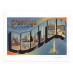 Boston, MassachusettsLarge Letter Scenes 2 Postcards