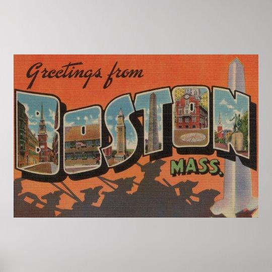 Boston, MassachusettsLarge Letter Scenes 2 Poster