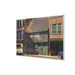 Boston, MassachusettsView de la casa de Paul Rever Impresión En Lona Estirada