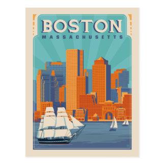 Boston, Massachussetts | Save the Date Postcard