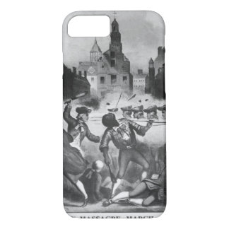 Boston Massacre, March 5, 1770_War Image iPhone 8/7 Case