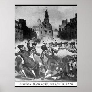 Boston Massacre, March 5, 1770_War Image Poster