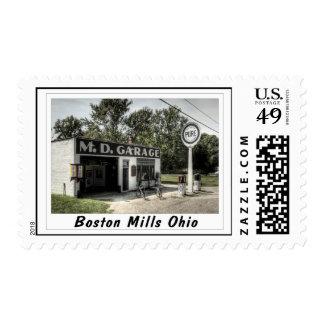 Boston Mills Oh Postage
