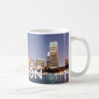 BOSTON MINI PLANET CLASSIC WHITE COFFEE MUG