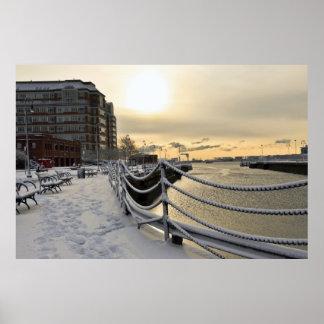 Boston Navy Yard Poster