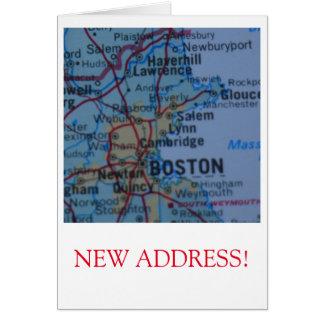 Boston New Address announcement