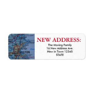 Boston New Address Label