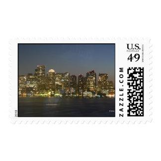 Boston Night Light--Postage Postage Stamp