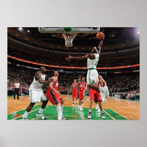 BOSTON - OCTOBER 11:  Rajon Rondo #9 of the Poster