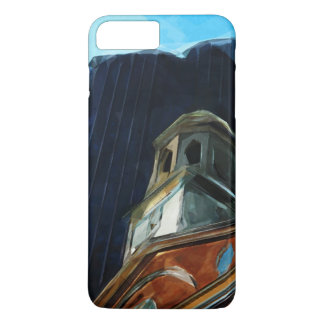 Boston Old State House Abstract Impressionism iPhone 7 Plus Case