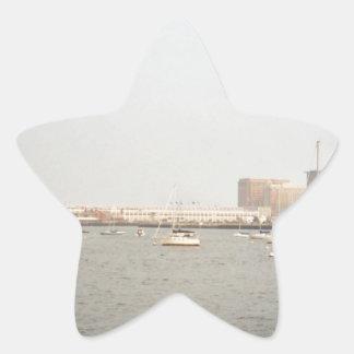 Boston Pegatina En Forma De Estrella