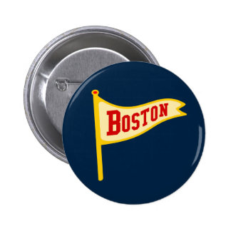 Boston Pennant Buttons