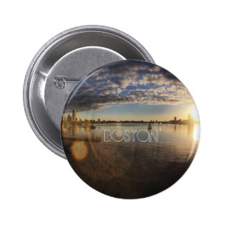 Boston Pinback Button