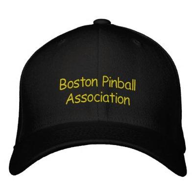 Boston Pinball Association Baseball Cap