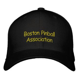 Boston Pinball Association Embroidered Baseball Cap