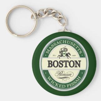 Boston - pissah travieso llavero personalizado