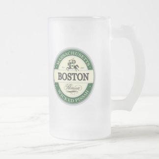 Boston - pissah travieso taza de café