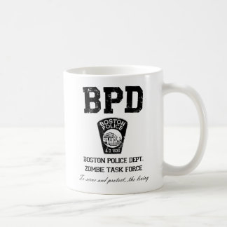 Boston Police Department Zombie Task Force Coffee Mug