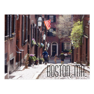 Boston Postcard, photographer Brad Hines Postcard