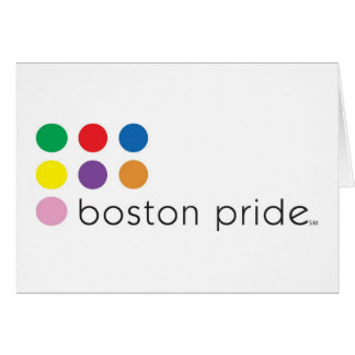 Boston Pride Greeting Card