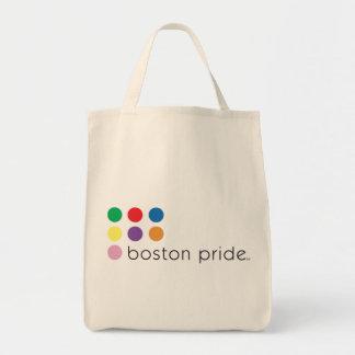 Boston Pride Grocery Tote Bags