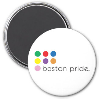 Boston Pride Magnet Large