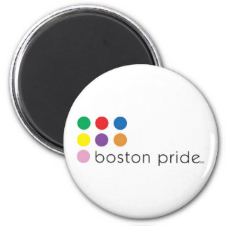 Boston Pride Magnet Standard