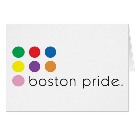 Boston Pride Notecard
