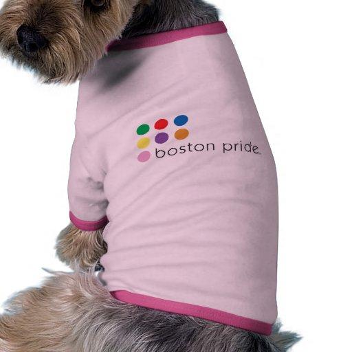 Boston Pride Pet Ringer Doggie T Shirt