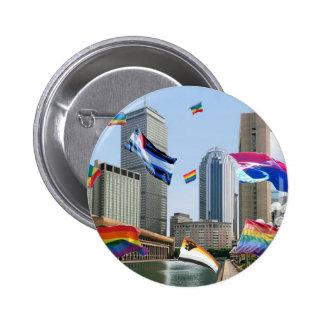 Boston Pride Pinback Button