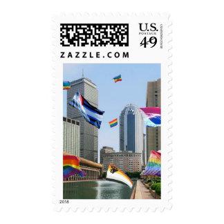 Boston Pride Postage Stamps