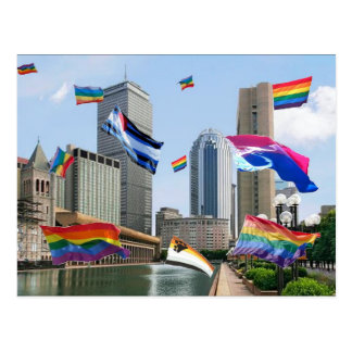 Boston Pride Postcard