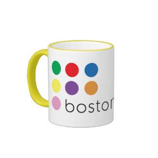 Boston Pride Ringer Mug