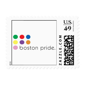 Boston Pride Small Stamp