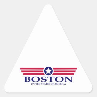 Boston Pride Triangle Sticker