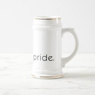 Boston Pride White Stein Coffee Mug
