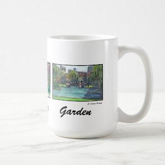 Boston Public Garden 3 Panel Mug