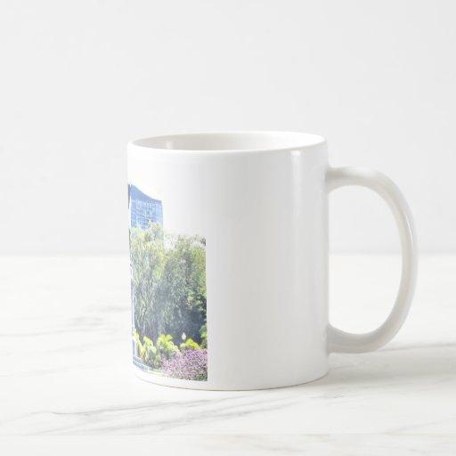 Boston Public Garden Basic White Mug