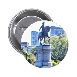 Boston Public Garden Pinback Button