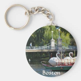 Boston Public Garden Key Chain