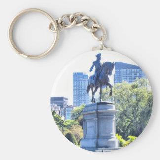 Boston Public Garden Keychain