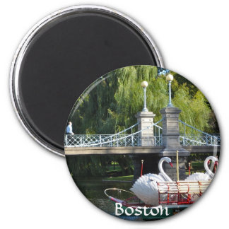 Boston Public Garden Magnet