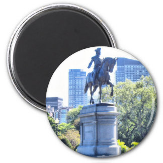 Boston Public Garden Magnet