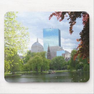Boston Public Garden Mouse Pad