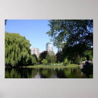 Boston Public Garden Posters