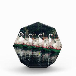 Boston Public Gardens Swan Boats Acrylic Award